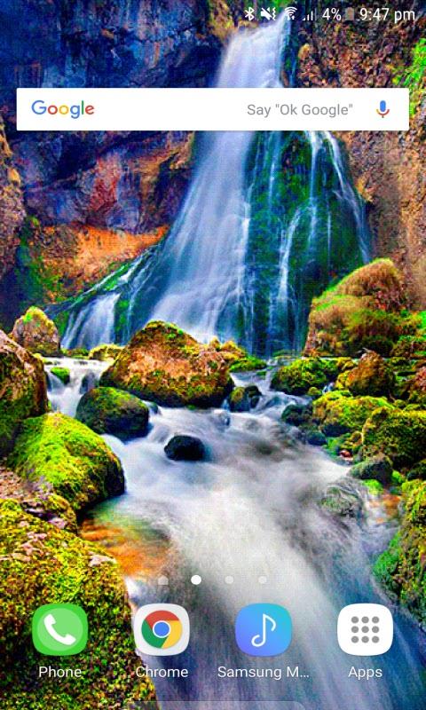 Vernal Falls Live Wallpaper