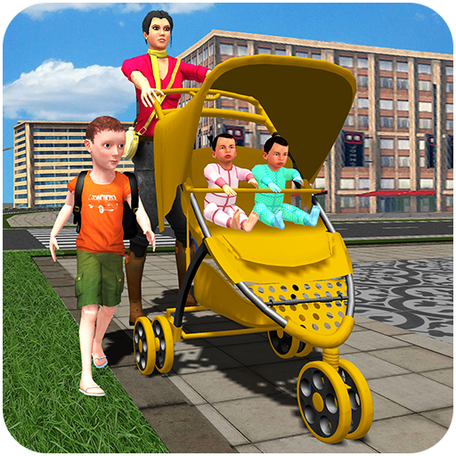 Virtual Nanny Babysitting Family Simulator
