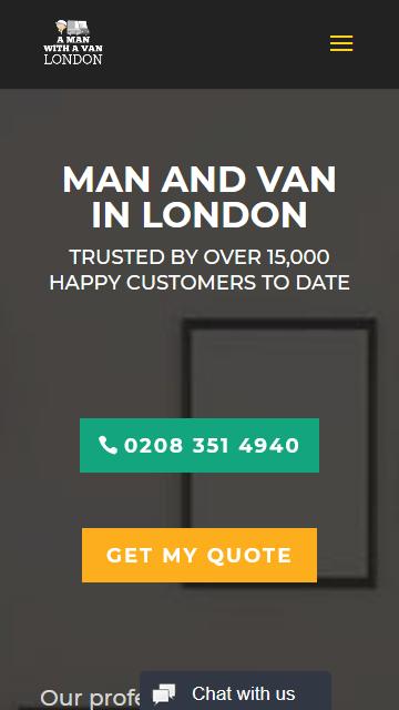 A Man With a Van London