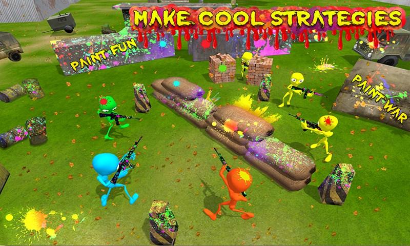 Alien Paintball Shooting Arena Battle