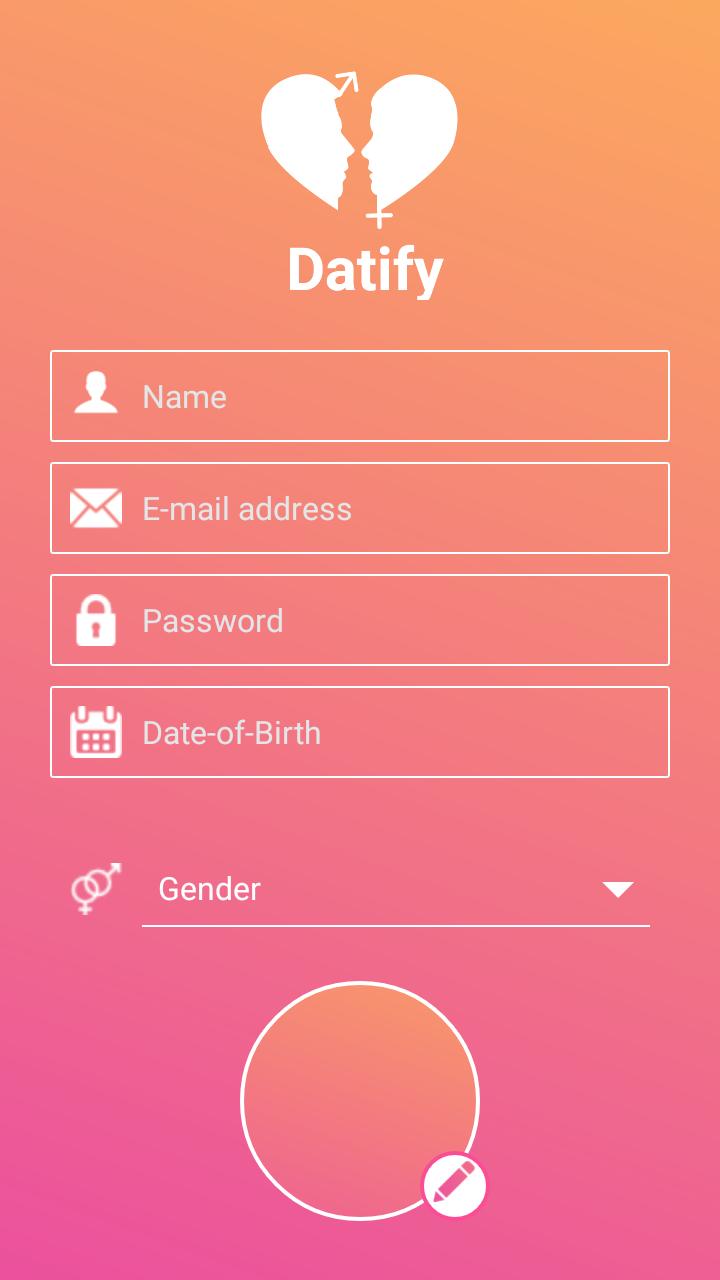Dating app development - Datify