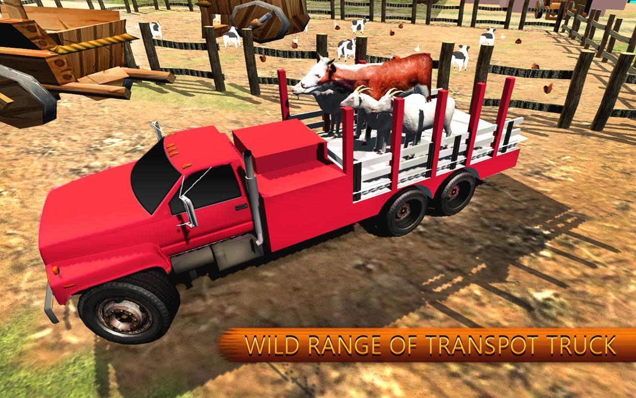 Eid Animal Transport Truck Simulator