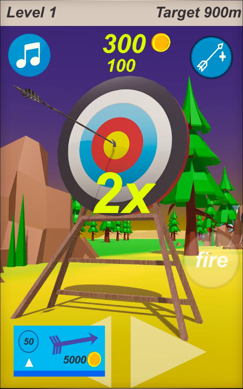 Flying Arrow Simulator 2018