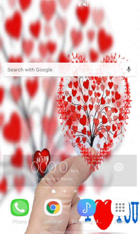 Hearts Tree Live Wallpaper