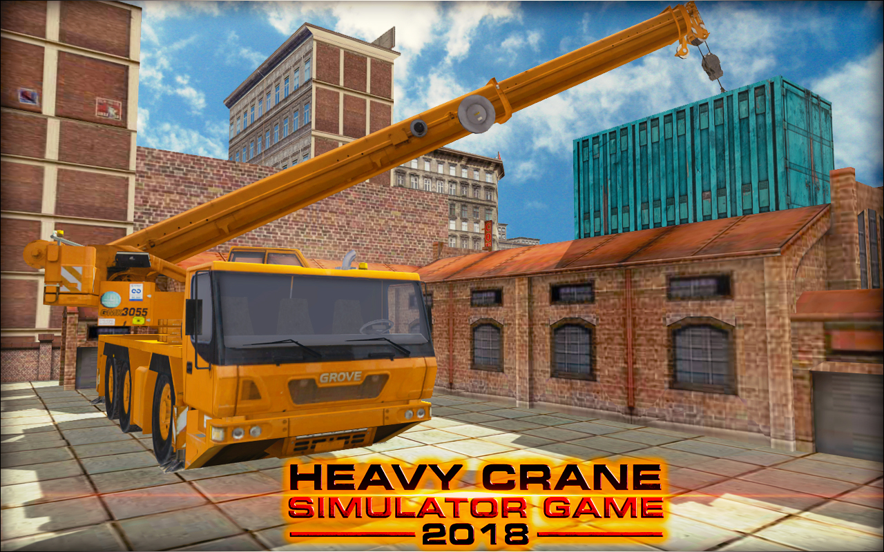 Heavy Crane Simulator Game 2018 – CONSTRUCTIONSIM
