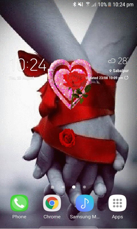 Love Forever Live Wallpaper