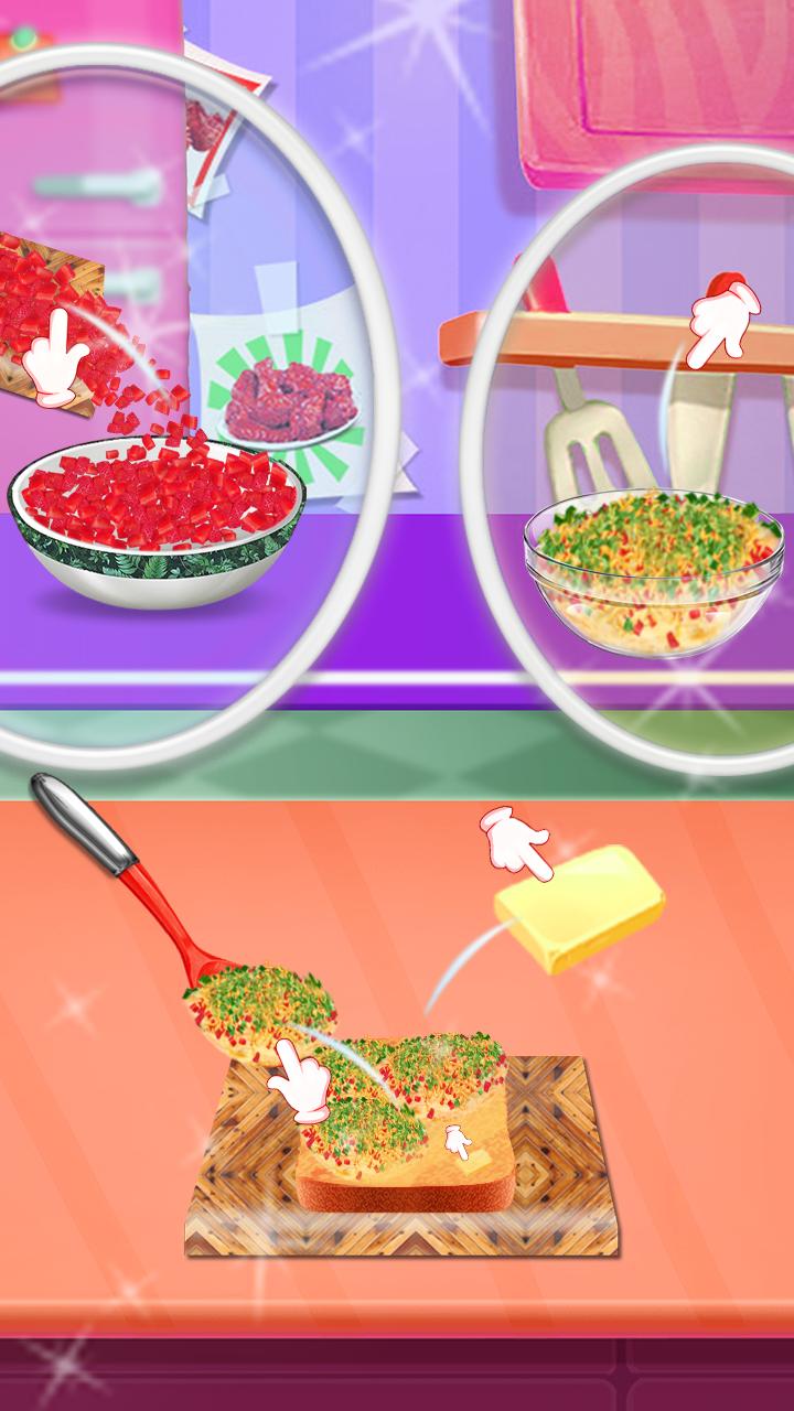 Make Crazy Sandwich - Best Cook Game
