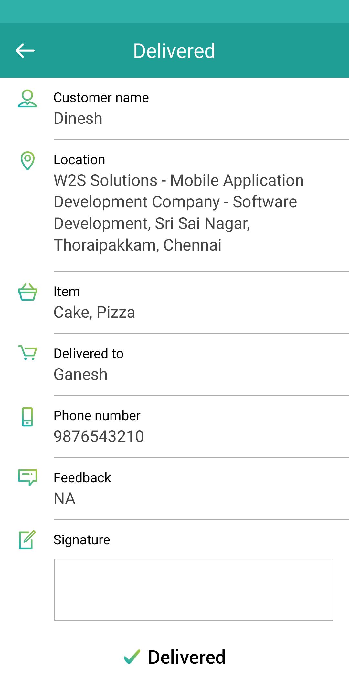 ManageTeamz - Delivery Tracking App