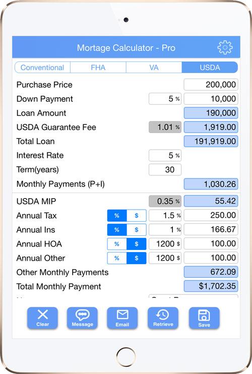 Mortgage Calculator- Lite