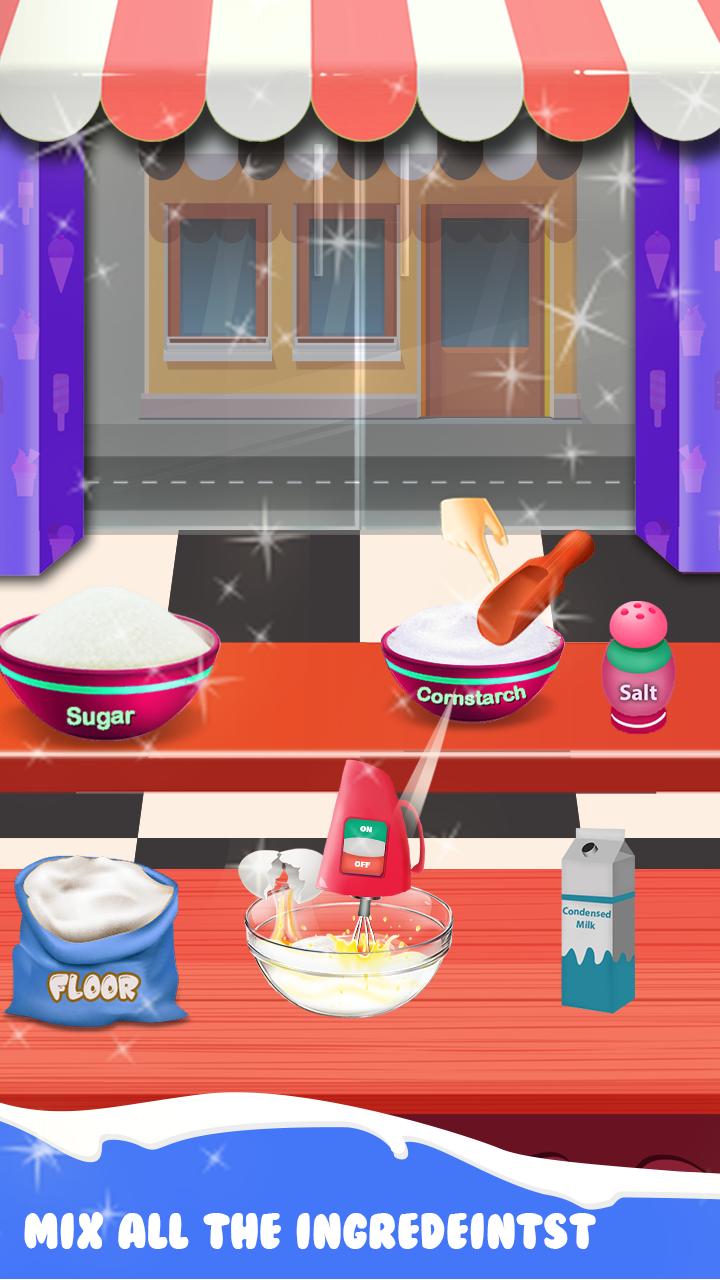 My Ice Cream Crazy Chef – Dessert Game