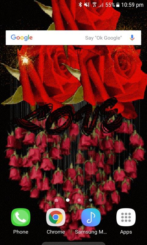 Rose Jhumer Live Wallpaper