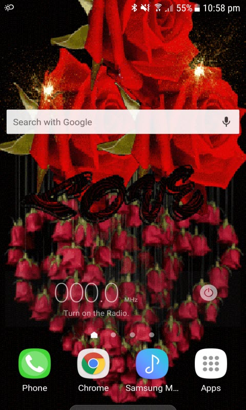 Rose Jhumer Live Wallpaper
