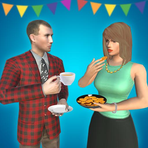 Virtual Happy Family: House Party
