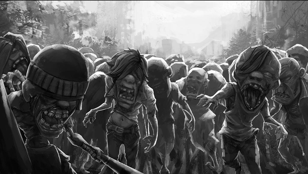 Zombie Heroes: landing beach