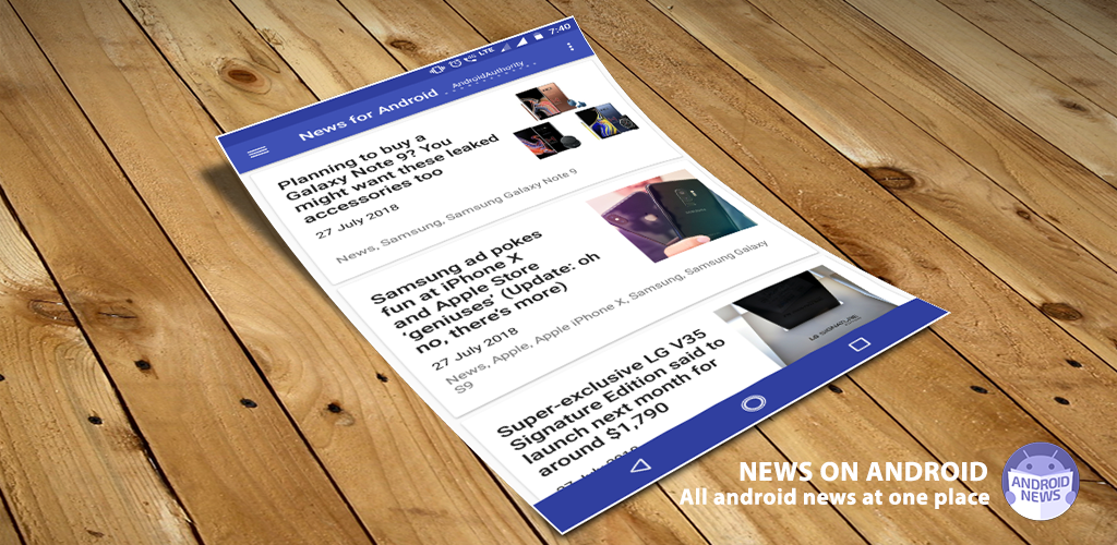 Android News - news on android - news for android