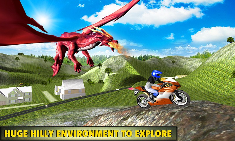 Bike Racing Dragon Adventure