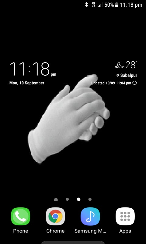 Clapping Live Wallpaper