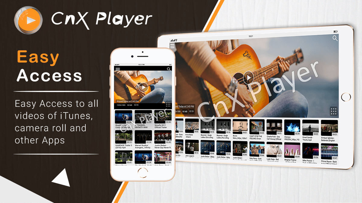CnX Player - 4K Ultra HD enabled Video Player