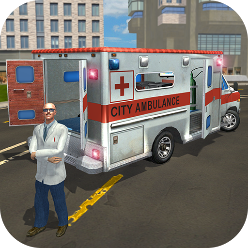 Emergency City Hospital Ambulance Rescue