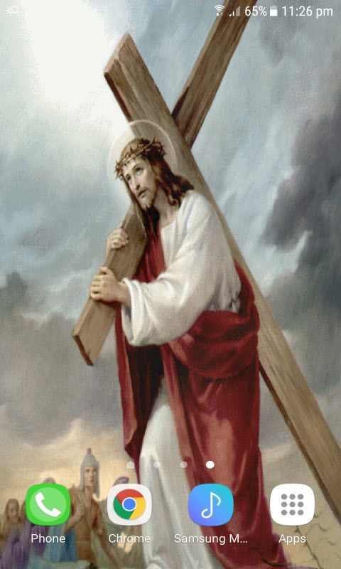 Jesus With Cross LWP