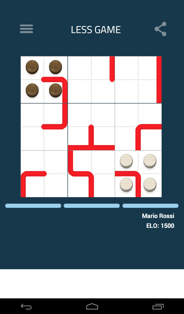 LESS: Like chess - but less !