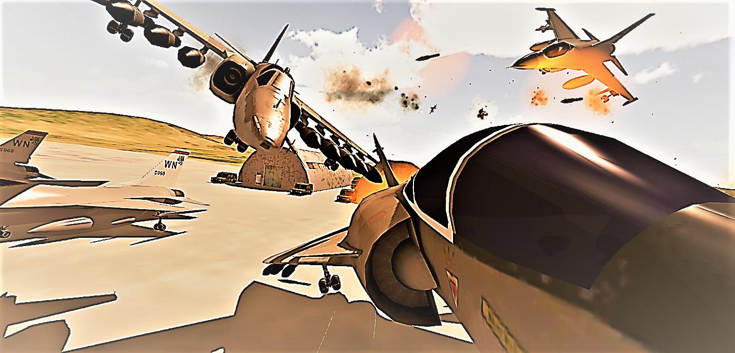 Modern Aircraft Strike