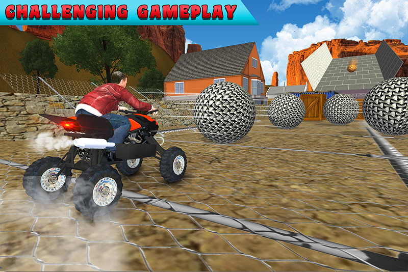 Motocross ATV Bike Stunts Adventure