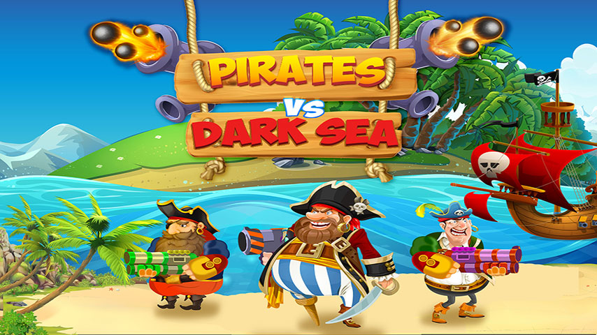 Pirate VS Dark Sea Monsters: Caribbean Bays Battle