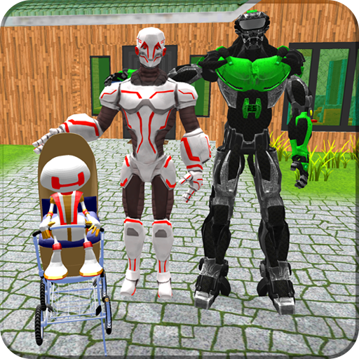 Robotic Family Fun Simulator