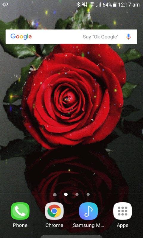 Rose Magic Live Wallpaper