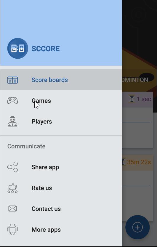 sccore - Score keeper