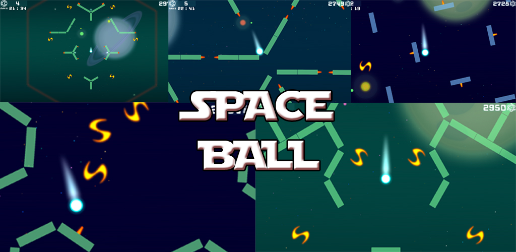 Space Ball - 2D Arcade Game