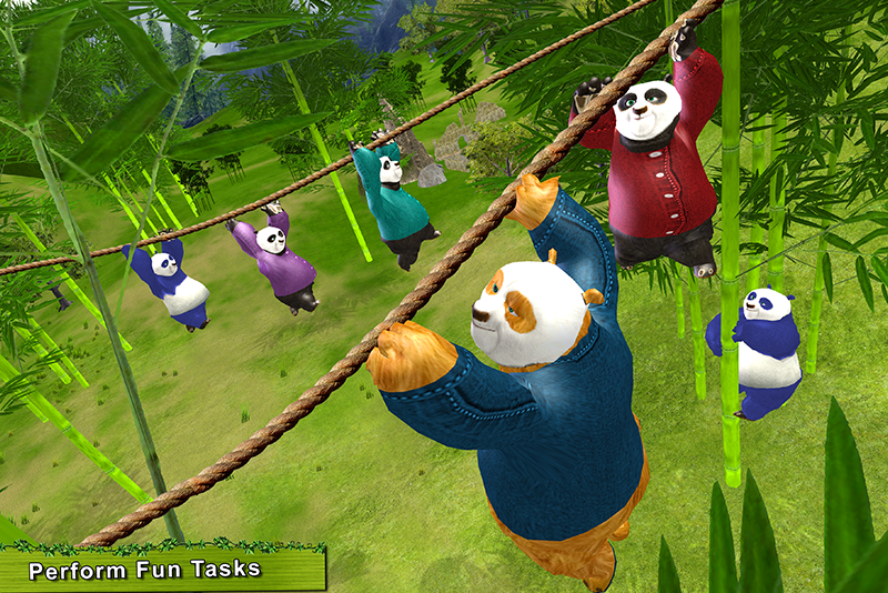 Sweet Panda Fun Games