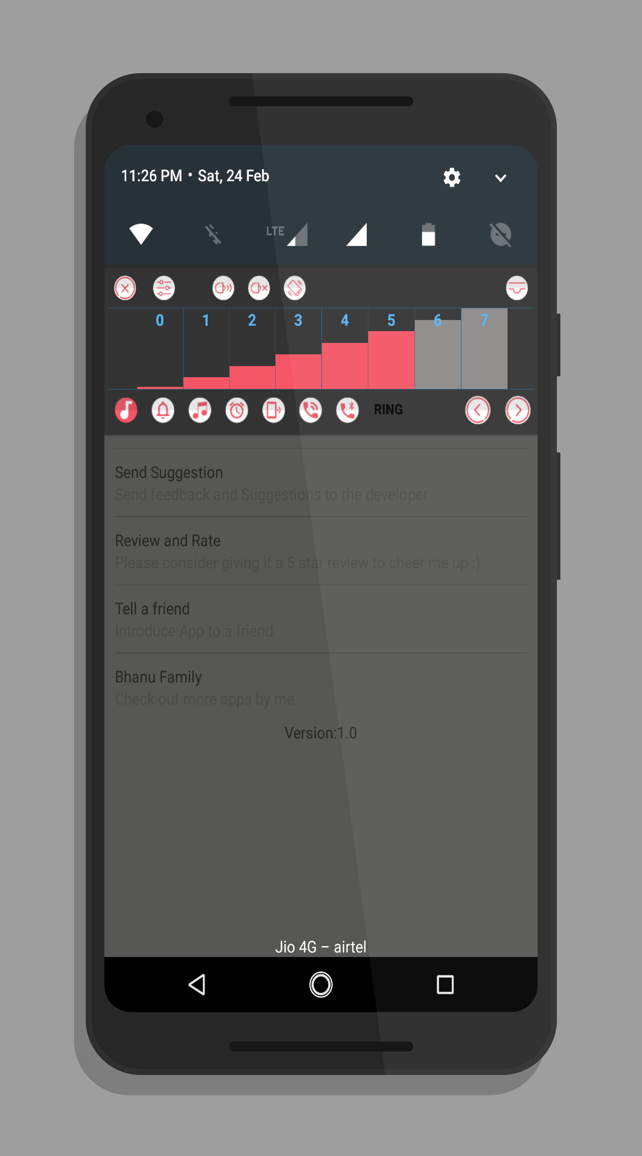 Volume In Notification - Quick Volume Control Free