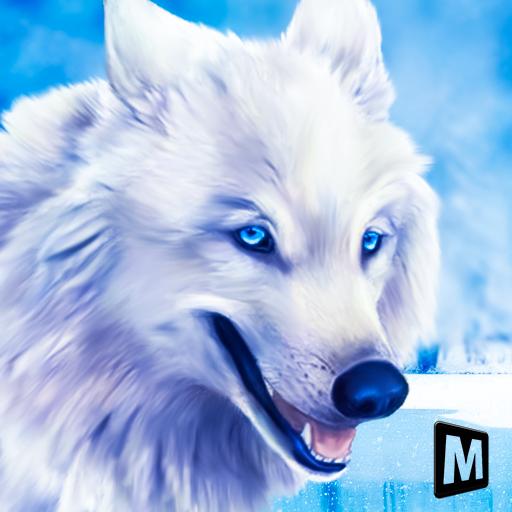 Arctic Wolf Sim 3D - Wild Animal Running Game