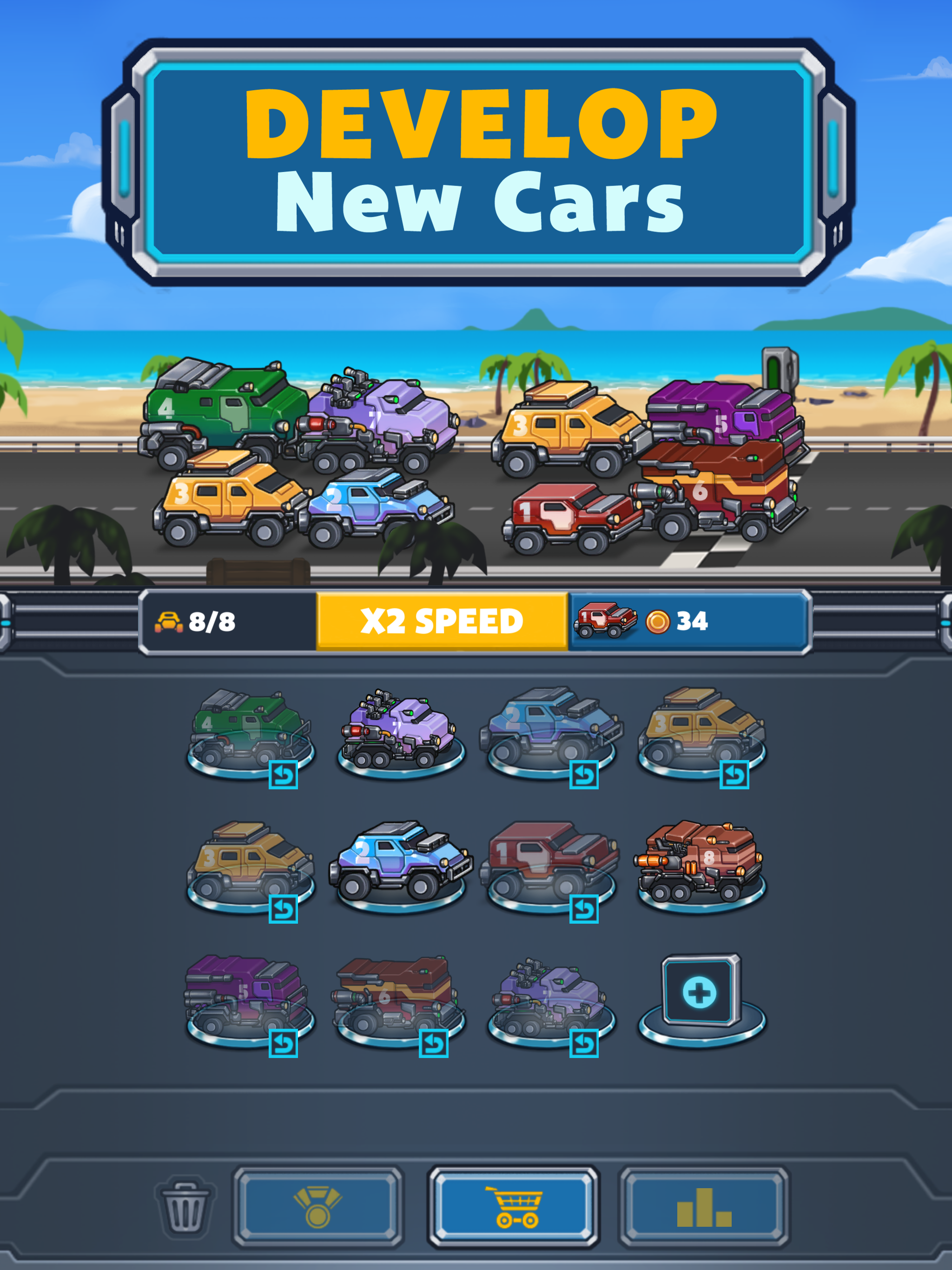Auto Cruise - Idle Car Merger