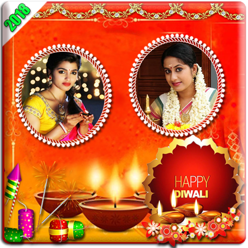 Diwali Photo Frames-Dual New