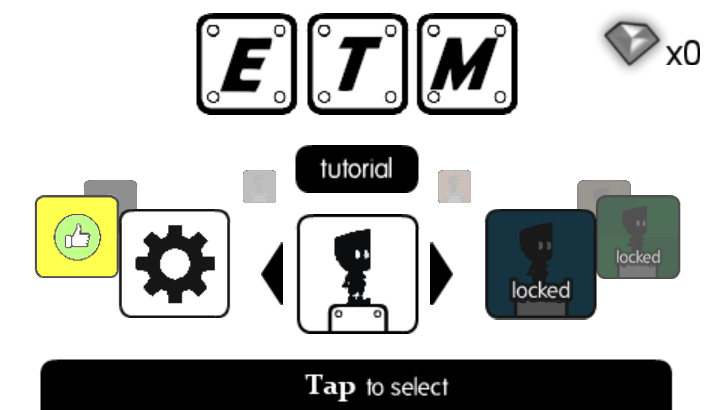 Eat the Man: Alien Arcade Platform Game