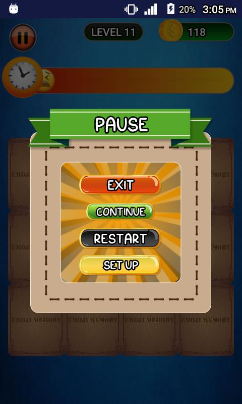 Emoji Memory Game