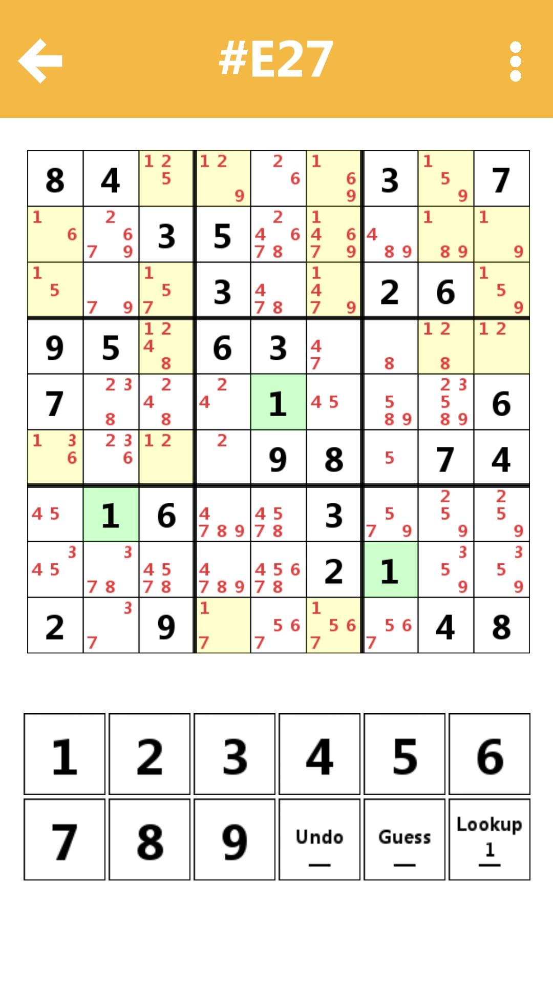HelloSudoku  : Free Class Sudoku
