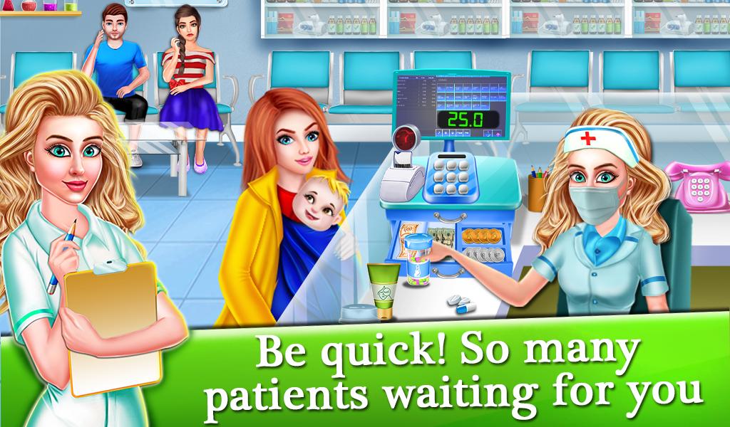 Medical Shop : Cash Register Drug Store