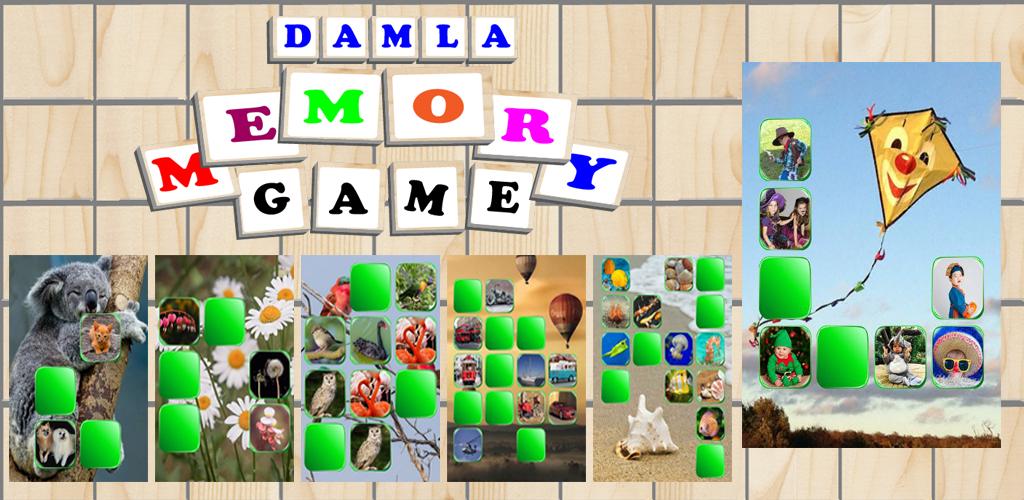 Memory Game - Brain Teaser - Damla Memory