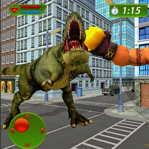 Monster Hero vs Dinosaur