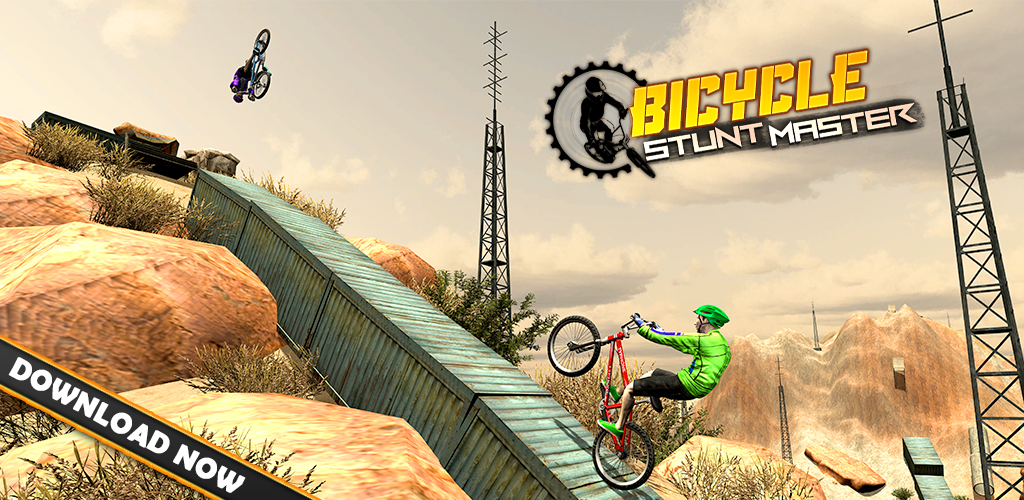 MTB Free Style Bicycle Race