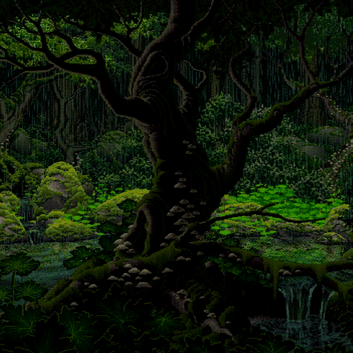 Rainy Forest Live Wallpaper