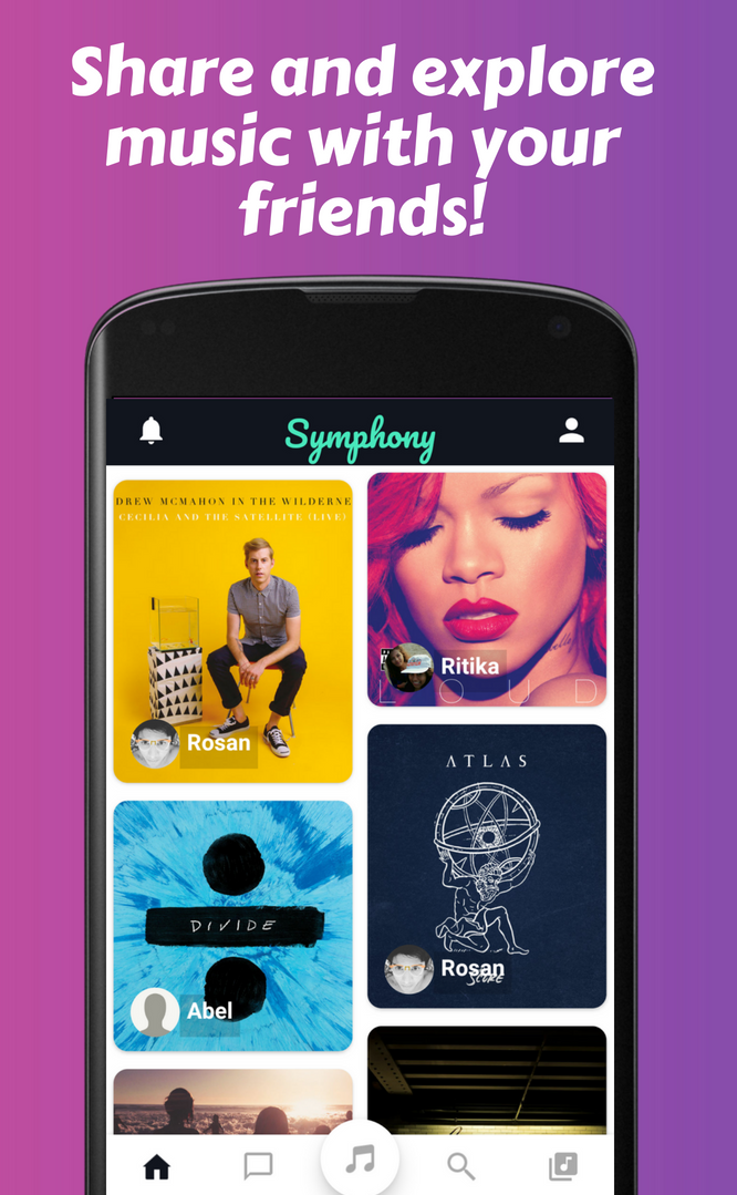 Symphony: The Music Social Network