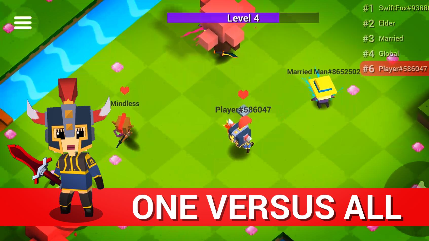 Throw.io - Online Massive Battle