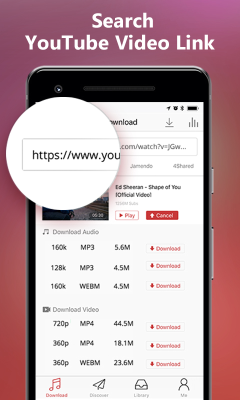 AnyUTube for Android - YouTube Video/Music Downloader