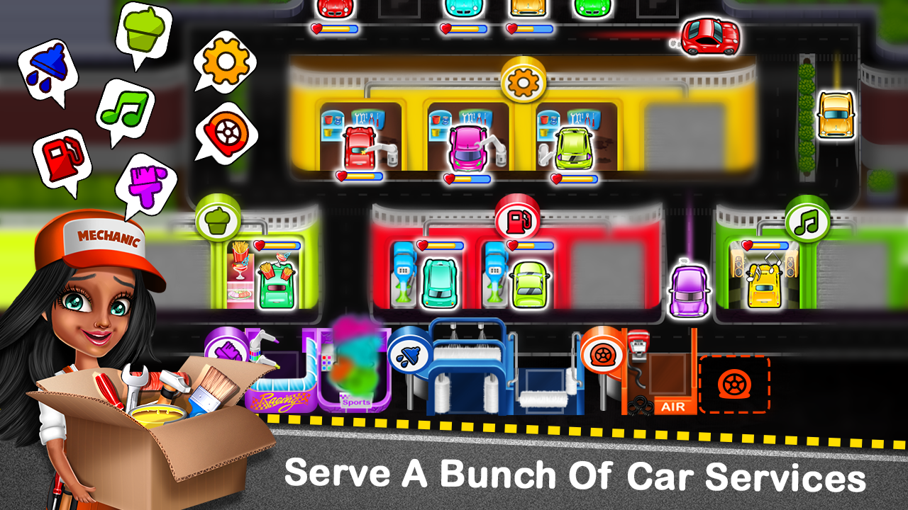Car Garage Tycoon - Simulation Game