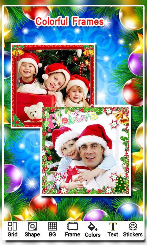 Christmas Photo Collage 2018